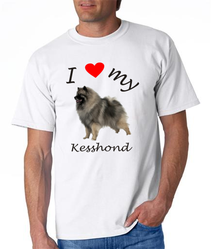 Dogs - Kesshond Picture on a Mens Shirt