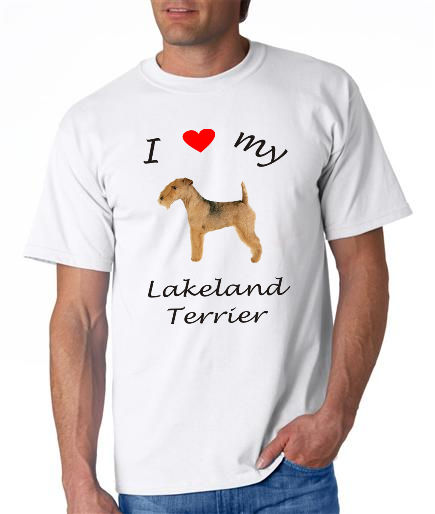 Dogs - Lakeland Terrier Picture on a Mens Shirt