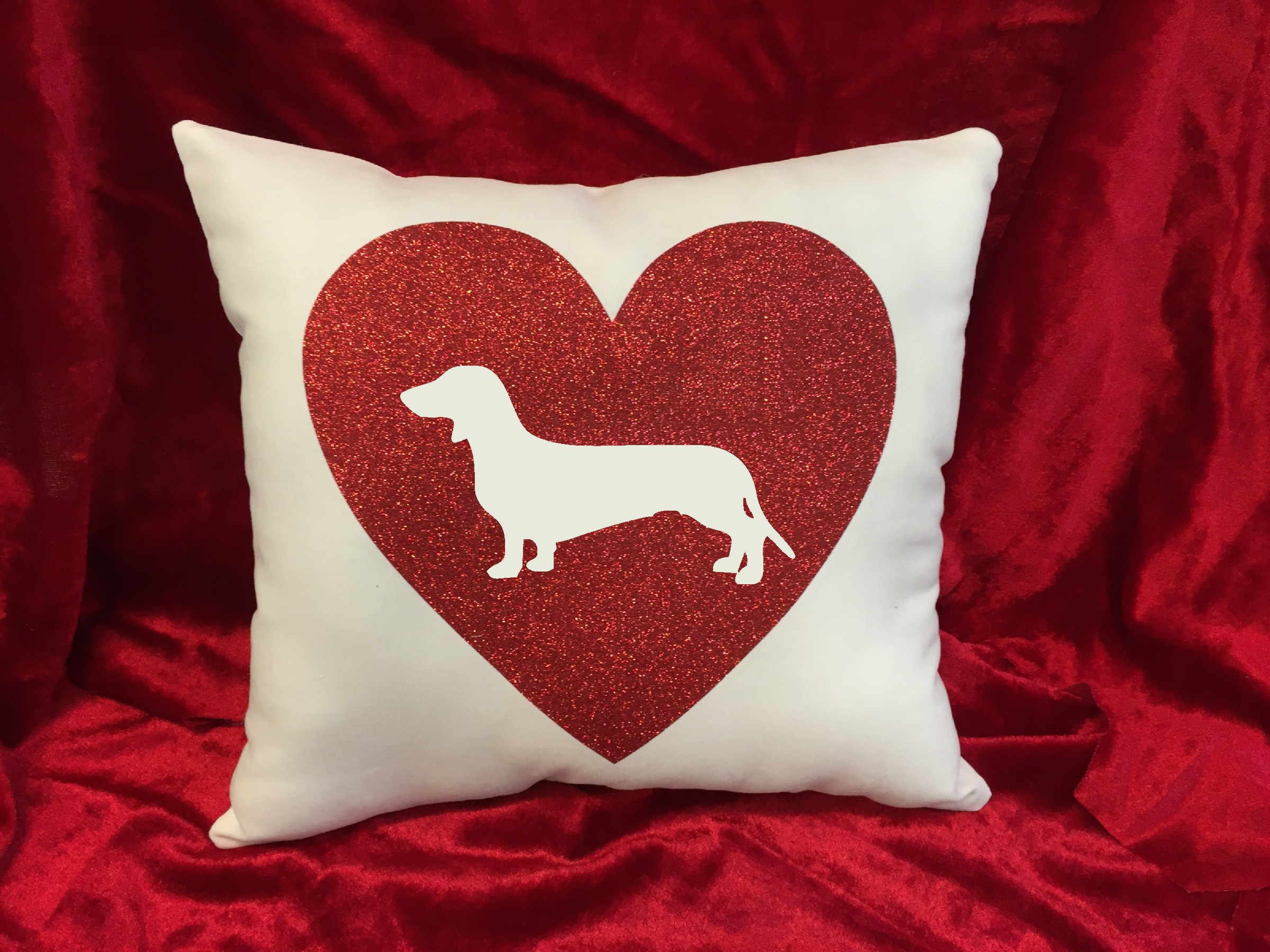 Dogs - Throw Pillow - Dachshund