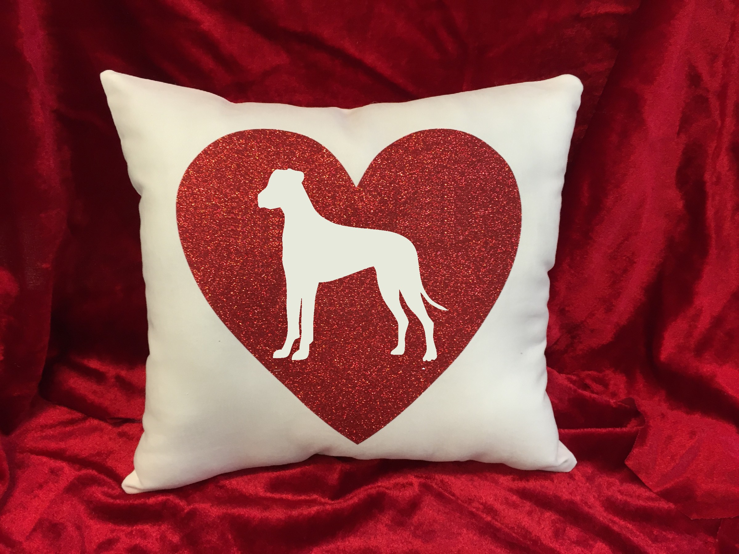 Dogs - Throw Pillow - Great Dane
