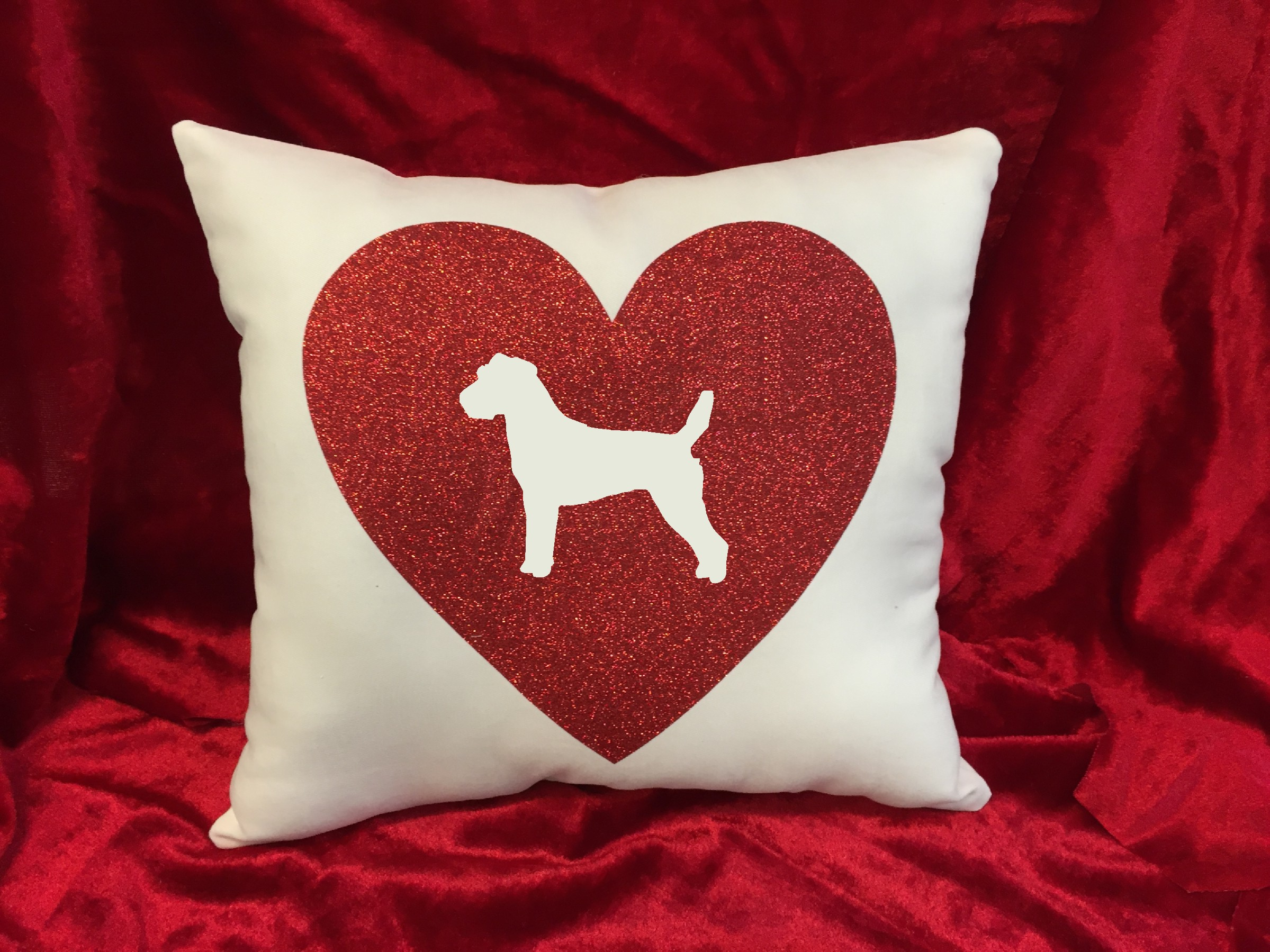 Dogs - Throw Pillow - Parson Russell Terrier