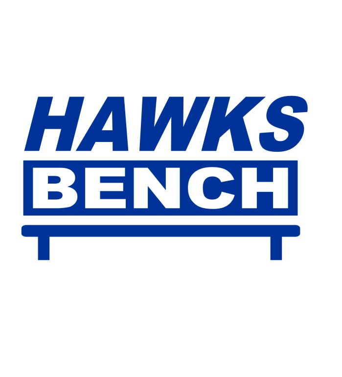 Hawks Bench - Front - with bench