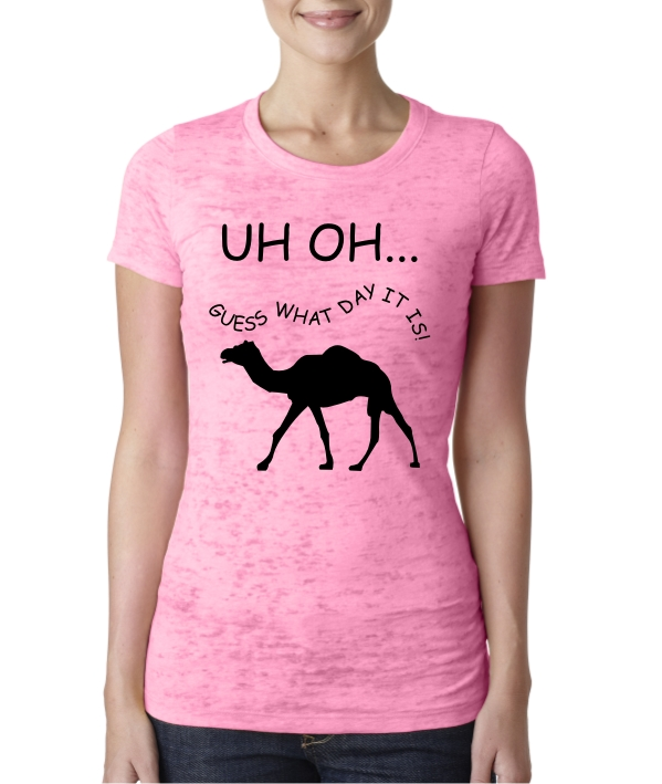 Hump Day Guess What Day it is shirts