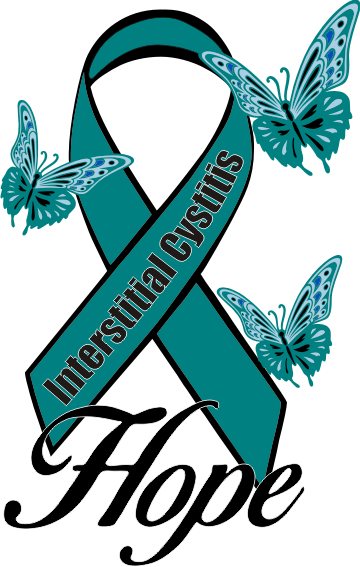 Interstitial Cystitis IC Hope Shirt design