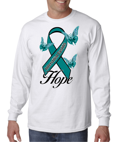 Interstitial Cystitis IC Hope on Mens LS shirt