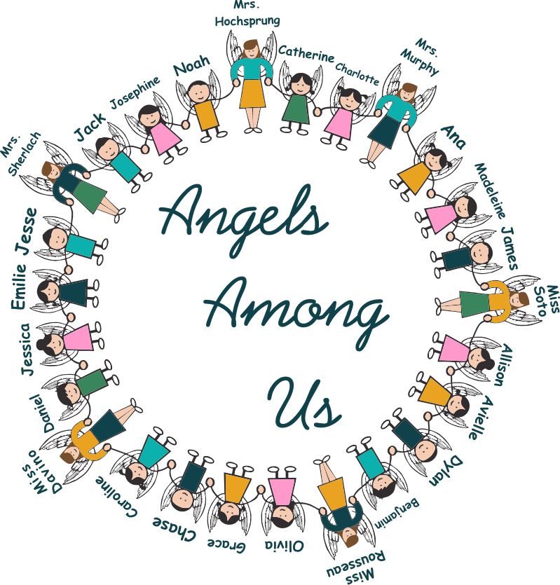 Sandy Hook Angels Among Us Graphic