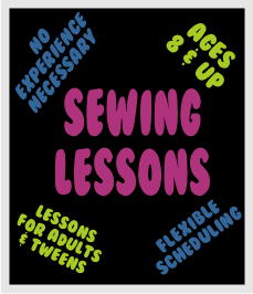sewing lessons home page