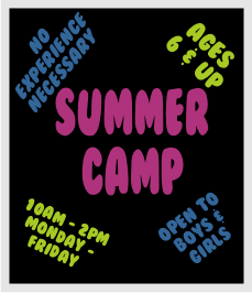 summer camp home page