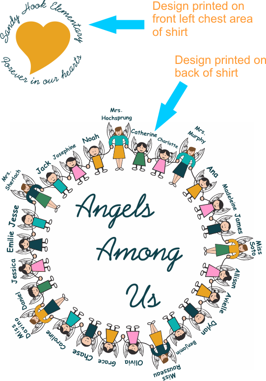 Sandy Hook Angels Among Us Combined Graphic